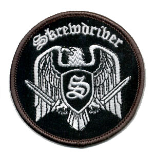 Skrewdriver Eagle Patch